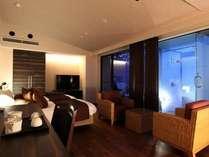 【すすき】二人だけの箱根の休日を過ごすにはぴったりの44平米広々ツインルーム