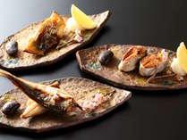 【朝食】ご用意する焼き魚はお好きなお魚をお選び頂けます。