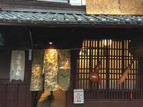 伝統的京町家の趣き♪やはり本物京町家は良いですね