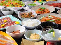 朝食は大好評の和食ハーフブッフェ♪福井の名物もお召し上がりになれます!
