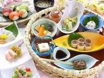 夕食付プラン 1Fレストラン「みもざ」にて 夕食時間 17:00~23:00(L.O.22:30)