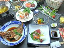 割烹料理宿が仕立てる『湯浅の旬地魚プラン』一泊二食付き