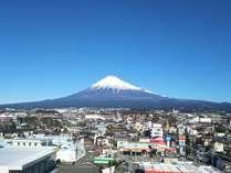 【ホテルから望む富士山】