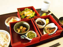 【朝食付き】一日のスタートはからだにやさしい和定食