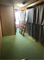 Back Packer PLAN Gドミトリー相部屋(定員6名)男女共用 二段ベッド1名分 MIX dormitory Bunk Bed