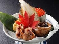 *日本海の恵みをたっぷり含んだ旬の幸です。