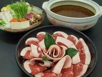 【上質肉】 能勢の冬の名物といえば、ぼたん鍋!