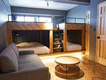 コンフォートトリプルルーム(ベッド2台)