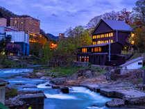 定山渓温泉にたたずむ隠れ家温泉『敷島別邸』でのんびりとおくつろぎください。