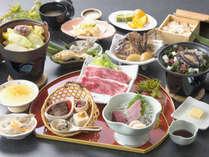 松コース お料理一例 いつもより贅沢に♪季節のメニューをお召し上がりください。