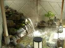 【大浴場】心地良い露天風呂