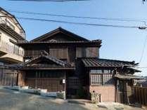 ・うふの外観 日本の伝統家屋です