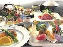 季節を彩る旬の食材をちょっと贅沢に!!【料理長おまかせ匠プラン】