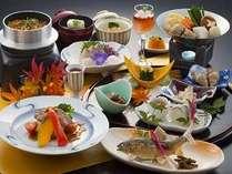 大分郷土料理だんご汁,牛ステーキ、鮎塩焼きなど全11品 【秋を味わう!味めぐりプラン】