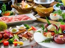 【12月~2月のお料理】ひたジビエを使ったお料理を味わえる贅沢会席!!