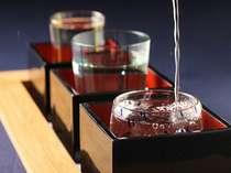 【日本酒好きな方に】お得!美味しい~3種地酒セット特典付★海鮮5種浜焼きプラン(お部屋食可)