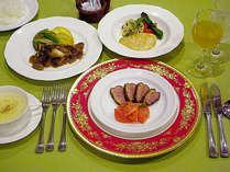 *夕食一例/見た目にも美しく盛り付け。洋食コース