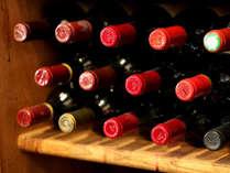 ワインはもちろんお酒にこだわっています。