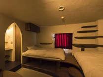 【デザイナーズルームValley】細部までサンアントンのこだわりが詰まったお部屋です。