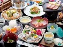 【季節の会席料理】24時間ステイプランはこちらの料理です/一例