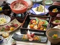 郷土料理を現代風にアレンジした料理長山内の懐石料理