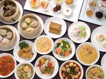 「美味彩麗ランチブッフェ」約40種類のお料理とテーブルオーダーの点心は出来立てをお席まで!~10/31