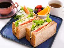 「ブランチセット」遅めの朝食やランチにもおすすめ♪ロビーラウンジ ポートニオ
