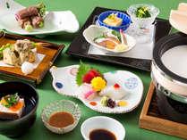 夕食は5つのレストランから選べます!!画像は、「和食 清水」(イメージ)