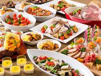 夕食は3つのレストランから選べます!!画像は、「ブッフェレストラン ビオナ」(イメージ)