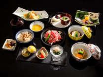 「焼き物に思いを馳せる旅プラン」夕食イメージ