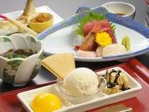 【レディースプラン膳】地元の食材を生かした料理の味わいの深さに思わず舌鼓