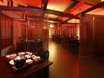 会食場「灯」※個の空間を大切にした造りです。