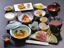 【お勧め「竹」膳・ふかひれの姿煮+花巻産白金豚の季節鍋付】