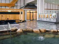岡山県下最大級!! 天井が高くて広々♪ 開放感抜群の温泉で、手足を伸ばしてリフレッシュ^^