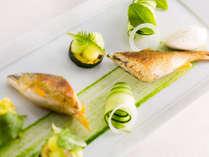 ひと味違って、フレンチ風にアレンジした川魚料理を楽しみませんか
