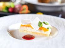 お料理の締めくくりには、口とげの良い爽やかなデザートを。