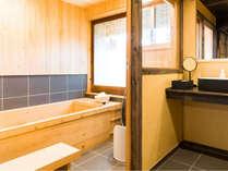 【桜401】職人が作る香り高い檜風呂をご用意