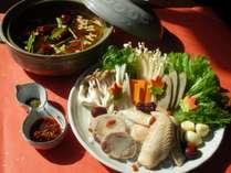 【11月~3月までの期間限定おトクプラン★】つくばブランド地鶏茜鶏の薬膳スープ鍋プラン