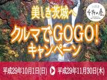 いばらき女将の会コラボ企画!美しき茨城へ クルマでGOGO!高速道路SAで使えるお買い物券付