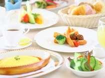 シェフ自慢の朝食!和洋中の多国籍ビュッフェを召し上がれ!朝からお腹いっぱい(^v^)