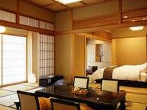 【特別室 125平米】和室12.5畳+和室10畳のゆとりのある特別室。