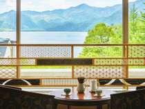 【組子ライブラリー】中禅寺湖を望みながら贅沢なひとときを