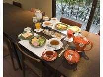 【料理】朝食一例/洋食/写真は2名様分です