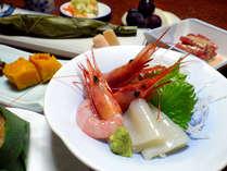 *【夕食一例】新鮮な海の幸