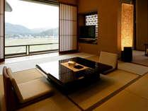 最上階フロアは眺望の良さを最大限に活かし和と洋を融合させた設計