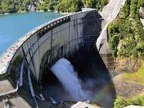 【立山黒部アルペンルート】大迫力の放水を見学できる黒部ダム