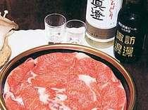 【実り】牛スキヤキ食べ放題・地ビール1杯付きプラン