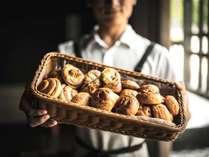 1913年に京都で創業された進々堂のパンを使用。(朝食イメージ)