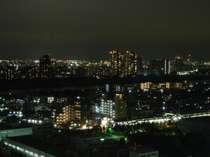 高層階から眺める夜景をお楽しみ下さい♪(モデレートダブルから)