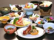 新鮮な海の幸を使用した北前料理(一例)